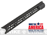 Matrix Arms 15 5.56 Charlie Keymod Free Float Hand Guard for AR15 / M4 / M16 Rifles - Black