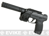Umarex TD P45 Tactical 4.5mm Air Pistol by Umarex (.177 cal Air Gun)