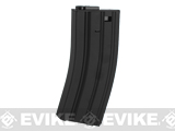 A&K Metal 60rd Mid-Cap Magazine for M4/M16 Series Airsoft AEG Rifles (Color: Black)