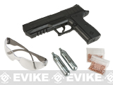 Crosman P15B CO2 Powered Semi-Auto Air Pistol Kit (.177 cal Air Gun)