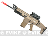 FN Herstal SCAR-H Licensed MK17 Gas Blowback Airsoft Rifle by WE-Tech - Tan