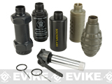 Thunder B Airsoft Co2 Simulation Grenade (Package: Special Core + 5 Shells Set)