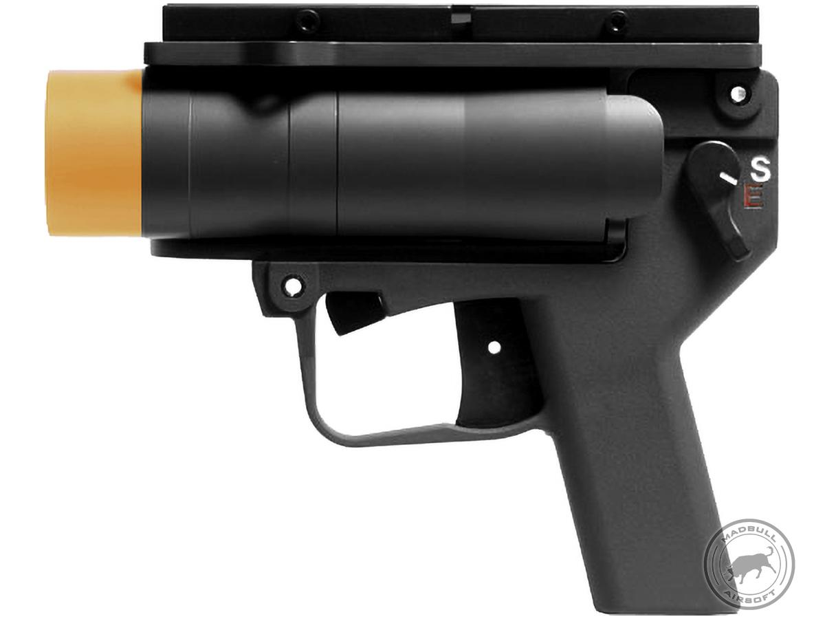 Madbull AGX Airsoft Grenade Launcher Pistol w/ Mount