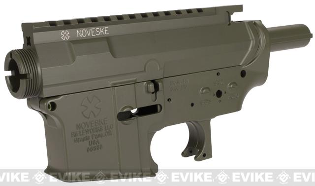 Madbull Licensed Noveske MUR Metal Body for M4 M16 Airsoft AEG w/ Ultimate Hopup Unit (Color: OD Green)