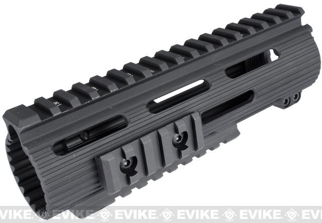 Madbull VTAC Licensed Extreme Battle Rail for Airsoft M4/M16 Series AEGs (Model: 7 / Black)