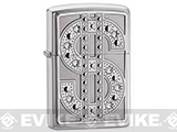 Zippo Classic Lighter - Bling Edition (High Polish Chrome with Swarovski Crystals)