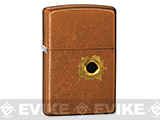 Zippo Classic Lighter - Bullethole (Toffee)