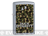 Zippo Classic Lighter - Duck Dynasty Camo (Brushed Chrome)