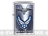 Zippo Classic Lighter Patriotic Series (Model: U.S. Air Force / Chrome)