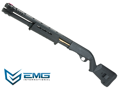 EMG Salient Arms Licensed M870 MKII Airsoft Training Shotgun (Model: Magpul / Black)