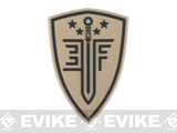 Elite Force PVC Shield Patch - Tan