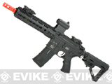 ICS CXP Pro Line Transform-4 260 Keymod Electric Blowback Airsoft AEG Rifle - Black (Front Wire)