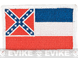 Evike.com Tactical Embroidered U.S. State Flag Patch (State: Mississippi The Magnolia State)