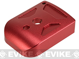 5KU Type-1 Aluminum Magazine Base for 5.1 Hi-Capa Series Airsoft GBB Pistol Magazines (Color: Red)