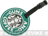 5ive Star Gear Guns n Coffee PVG Luggage Tag