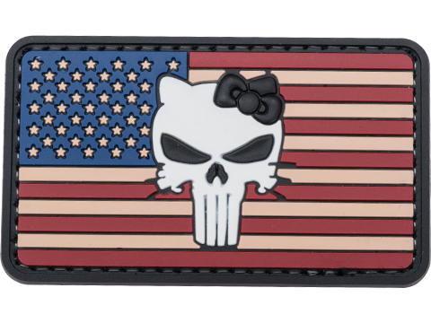5ive Star Gear Vintage Flag PVC Morale Patch (Type: Vintage Tactical Kitty)