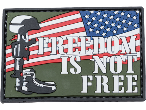 5ive Star Gear Freedom Is Not Free PVC Morale Patch