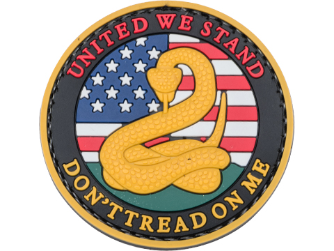 5ive Star Gear Don't Tread On Me PVC Morale Patch