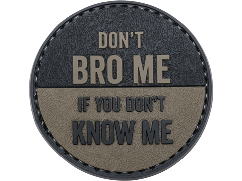 5ive Star Gear Don't Bro Me PVC Morale Patch