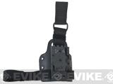 SAFARILAND 6009 SML Tactical Drop Leg / Thigh Plate w/ QLS Receiver - Black