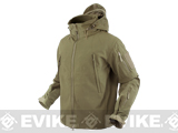 Condor Summit Tactical Softshell Jacket - Tan
