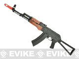 ICS IKS74N AK Series Airsoft AEG with Folding Stock and Real Wood Furniture
