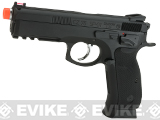 CZ75 SP-01 Shadow Gas Blowback Airsoft Pistol by ASG - Black (Green Gas)