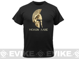 Rothco Molon Labe T-Shirt - Black (Medium)