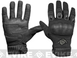 Evike.com Field Operator Full Finger Tactical Shooting Gloves (Color: Black / Small)