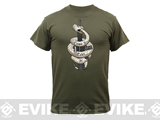 Rothco Come & Take It T-Shirt - OD Green (Large)