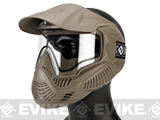 Annex MI-7 ANSI Rated Full Face Mask with Thermal Lens by Valken (Color: Tan)
