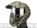 Annex MI-7 ANSI Rated Full Face Mask with Thermal Lens by Valken (Color: Scorpion V-Cam)