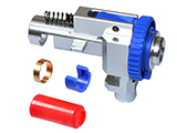 Matrix CNC Machined Aluminum Rotary Hop-Up Unit for M4 Series Airsoft AEGs by SHS