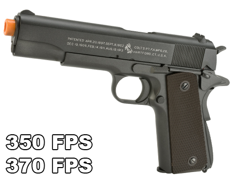 Colt 100th Anniversary Licensed Full Metal M1911 A1 Airsoft CO2 GBB by KWC
