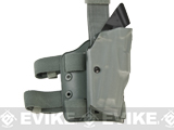 SAFARILAND ALS OMV Tactical Holster with Quick Release Strap - Beretta 92F (Foliage Green)