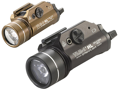 Streamlight TLR-1-HL 1000 Lumen C4 LED Rail Mounted Weapon Light (Color: Black)