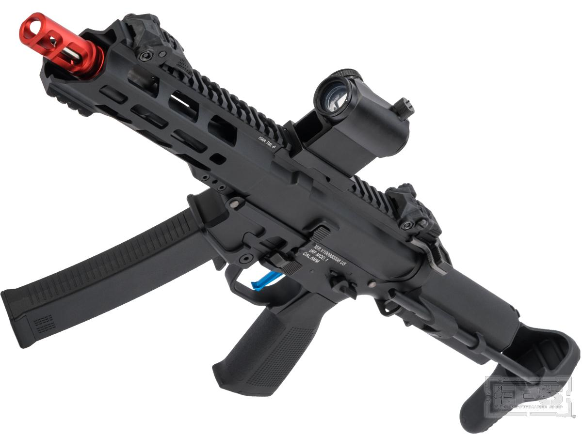 Evike Performance Shop Custom KWA QRF Pistol Caliber AR AEG w/ Variable FPS (Model: MOD.1)