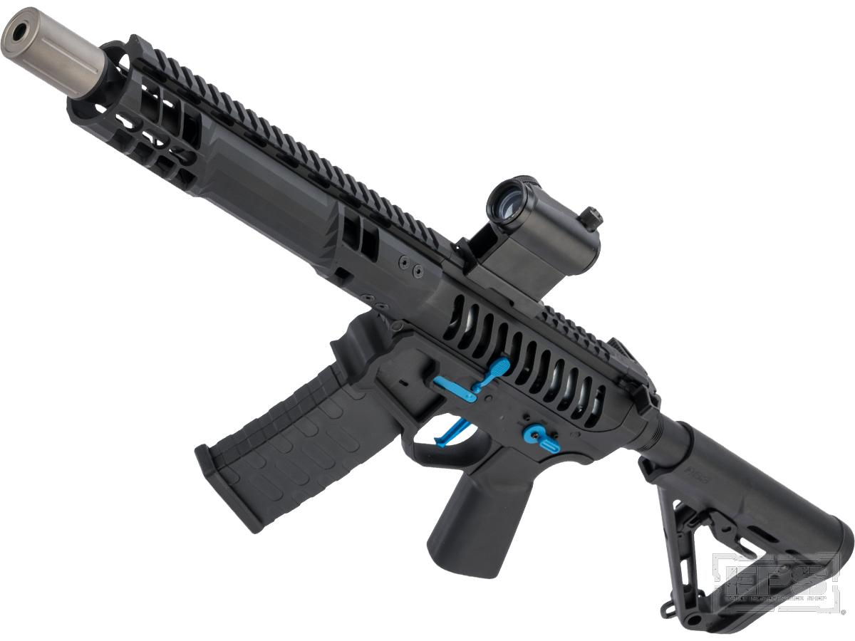 Evike Performance Shop Custom EMG F-1 Firearm SBR Airsoft AEG Rifle (Color: Black)