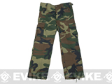 Rothco Kid's BDU Pants - Woodland / Size 10