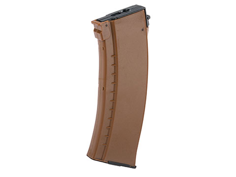 LCT LCK74 130 Round Mid-Cap AEG AK Magazine (Color: Orange)