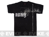 Rothco Vintage Army Copter T-Shirt - Black (Large)