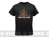 Rothco Vintage Choose Your Caliber T-Shirt - Black (Large)