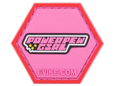 Operator Profile PVC Hex Patch Pop Culture Series (Style: Power Pew Girls)