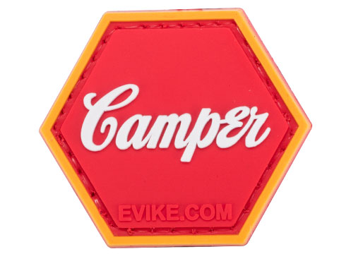 Operator Profile PVC Hex Patch Pop Culture Series (Style: Camper)
