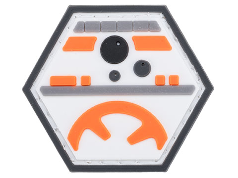 Operator Profile PVC Hex Patch Geek Series 3 (Style: Rolling Droid)