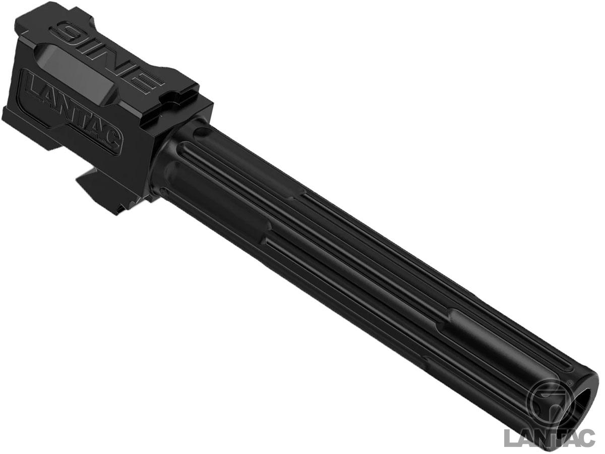 LanTac USA LLC 9INE 9mm Match Grade 1:10 Twist Fluted Barrel (Model: GLOCK 17 / Black)