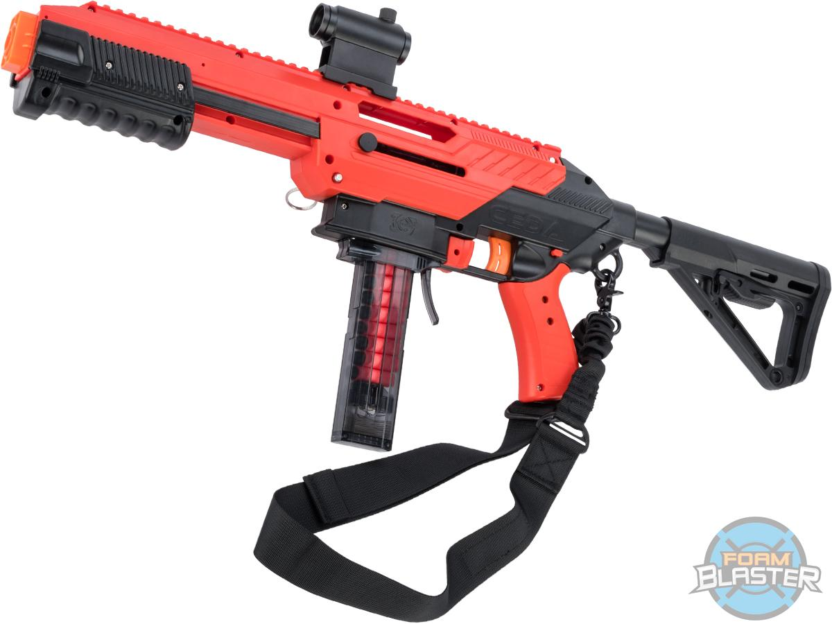 Jet Blaster CEDA Foam Blaster Dart Gun (Model: Model S Tactical Package / Red)