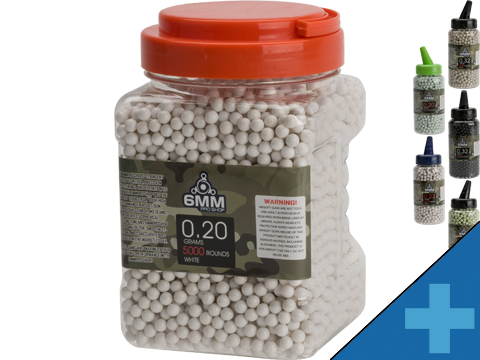 6mmProShop Pro-Series Bottled 6mm Premium High Grade Precision Airsoft BBs