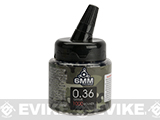 6mmProShop Pro-Series 6mm Premium Grade Bio-Degradable Precision Airsoft BBs - 0.36g / 1,000 Round (Color: Black)