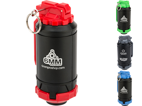 6mmProShop GBR Airsoft Mechanical BB Shower Simulation Hand Grenade (Color: Red)